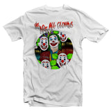 tee shirt Joker monde des clowns