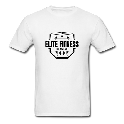"Men's ""Elite Fitness Gymwear"" T-Shirt - white"