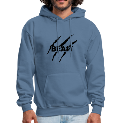 "Men's ""Beast"" Hoodie - denim blue"