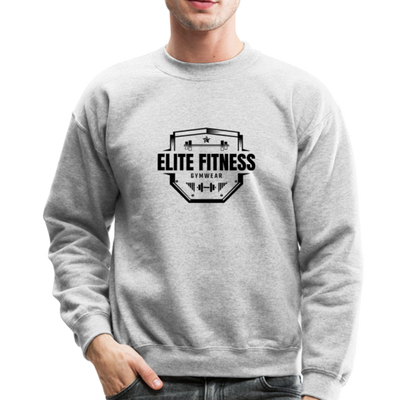 "Men's ""Elite Fitness Gymwear"" Sweatshirt - heather gray"
