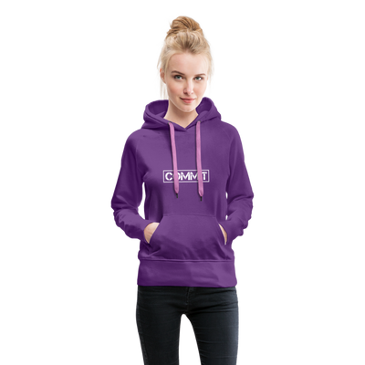 "Women's ""Commit"" Hoodie - purple"