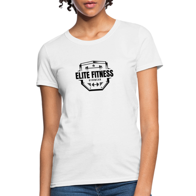 Women's Elite Fitness T-Shirt - white