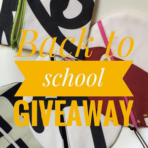 Back to School Instagram Giveaway!