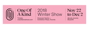 One of a Kind Winter Show 2018 banner