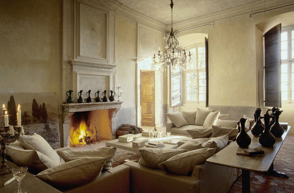Living room in Provencal style