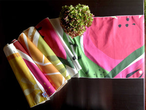 Watermelon table runner with Tutti Frutti collection