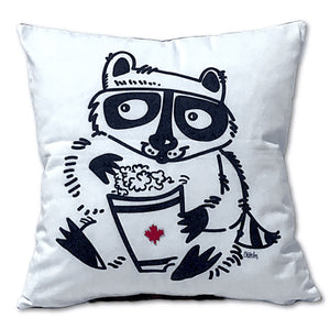 Popcorn Raccoon Pocket Pillow - Special Edition
