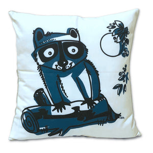 Raccoon Pocket Pillow