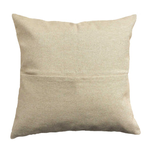 Feuillage (Foliage) pillow linen back with pocket