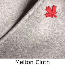 Load image into Gallery viewer, Melton Cloth detail showing fabric quality