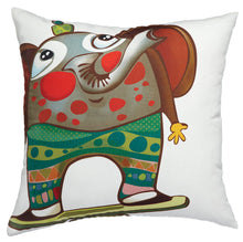Load image into Gallery viewer, Party Elephant - Cushion Cover