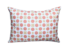 Load image into Gallery viewer, Pineapple Polkadot - Rectangle Throw Pillow