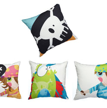 Load image into Gallery viewer, Pirate Girl - Cushion Cover