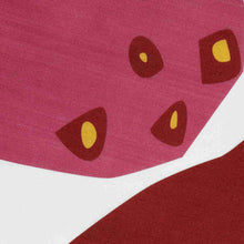 Load image into Gallery viewer, Strawberry table runner detail showing fabric weave