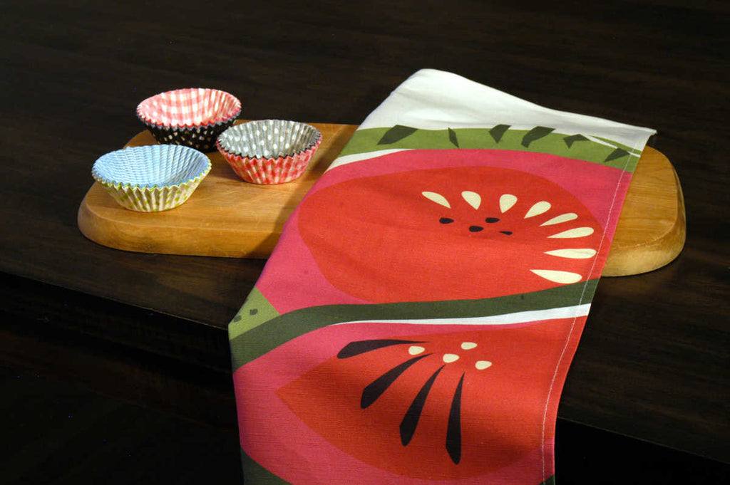 Watermelon kitchen towel from our Tutti Frutti Collection