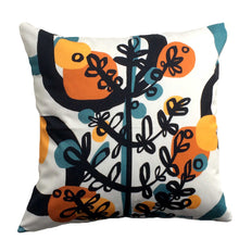 Load image into Gallery viewer, Branchette (Twig) decorative pillow cotton twill front with twig design
