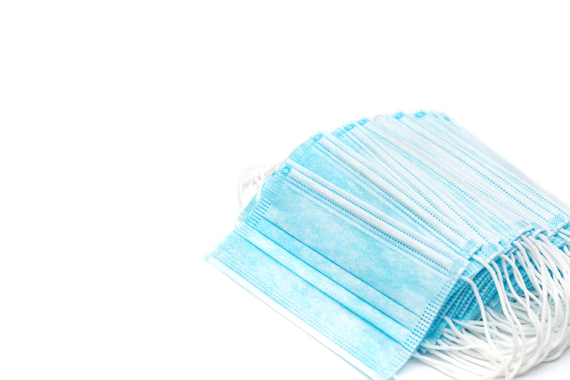 3-Ply Face Masks, 10-Pack