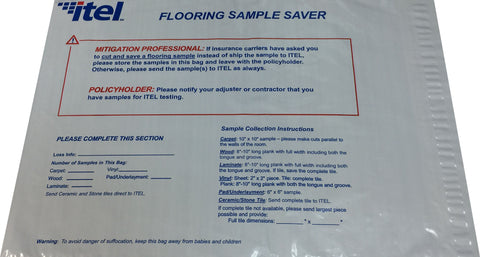 Flooring Sample Saver Bags (Pack of 20)