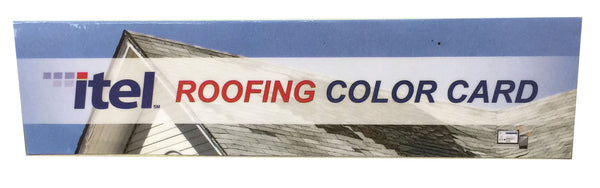 Roofing Color Card Replacement Itel Laboratories Inc