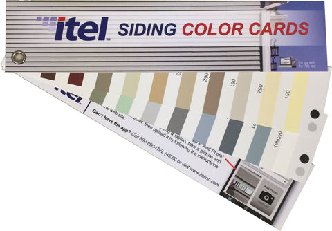 Siding Color Card Replacement