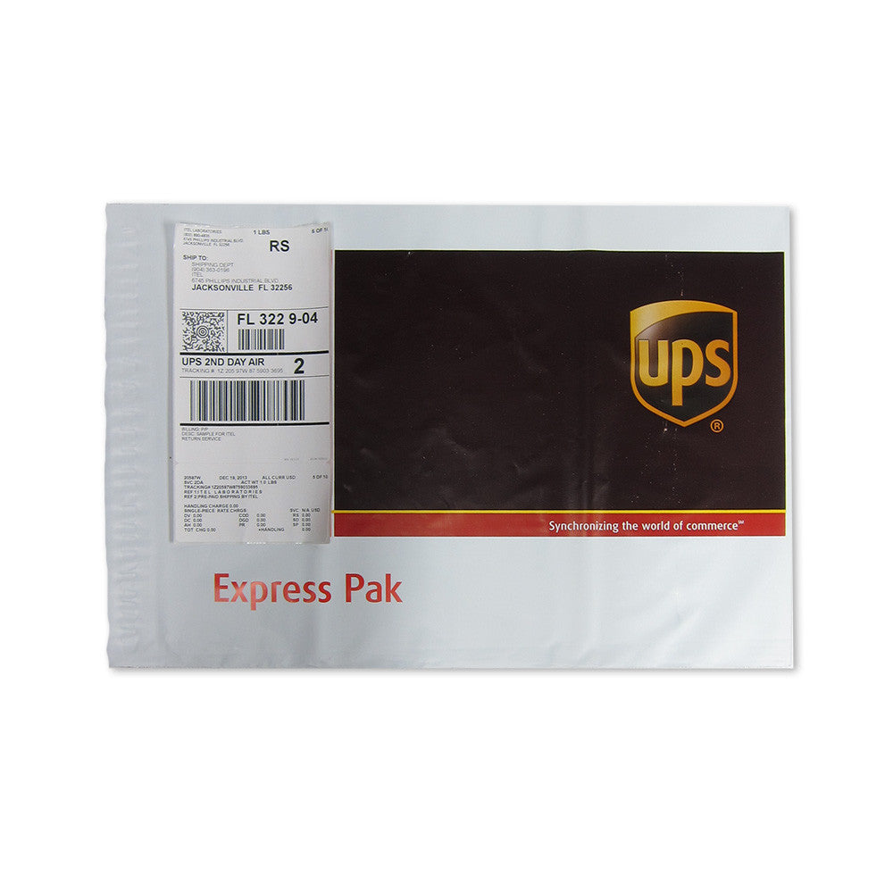 UPS Envelope and Pre-Addressed Label