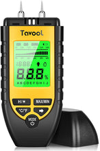 Charger l'image dans la galerie, Tavool Wood Moisture Meter Digital Moisture Detector 2 high precision pins 8 Calibration Scales