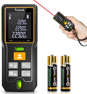 Tavool Laser Measure 5 in 1 Digital Laser Measurement Tool Distance Meter 165 Ft (50m)