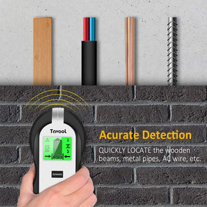 Stud Finder TH250 Sensor Wall Scanner - 4 in 1 Electronic Stud Sensor Beam Finders Wall Detector Center Finding with LCD Display for Wood AC Wire Metal Studs Joist Detection