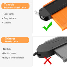 Load image into Gallery viewer, Tavool Contour Gauge with Lock 2 Pack (10 inch + 5 inch) Copy Irregular Shape Duplicator
