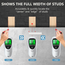 Load image into Gallery viewer, Tavool Stud Finder TH511 - 6 in 1 Electronic Magnetic Stud Sensor automatic calibration