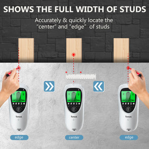 Tavool Stud Finder Wall Scanner 6 in 1 Electronic Magnetic Stud Sensor Wall Detector TH511