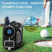 Load image into Gallery viewer, Tavool Golf Rangefinder- 6X Golf Distance Range Finder 700 Yards Laser Golf with Slope Flag-Lock Vibration Function, Rechargeable Range Finder