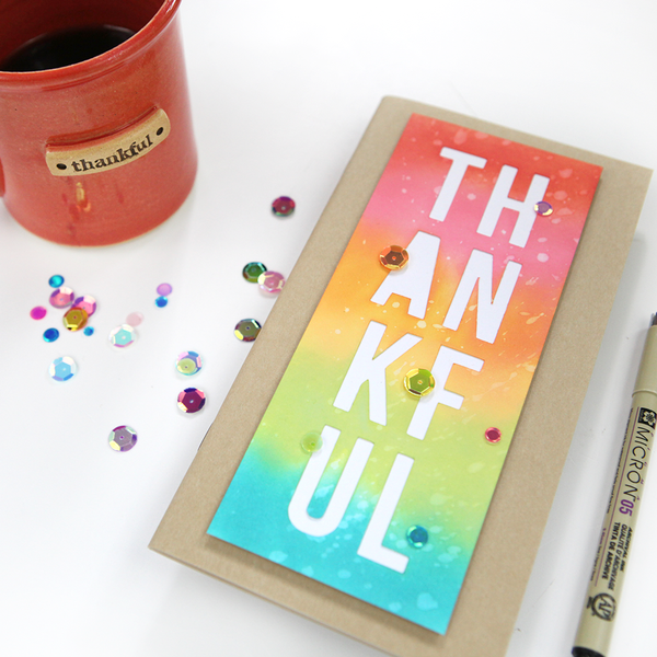 Thankful Cards Cut Files