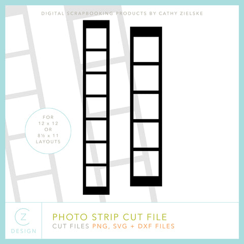 Photo Strip Cut File
