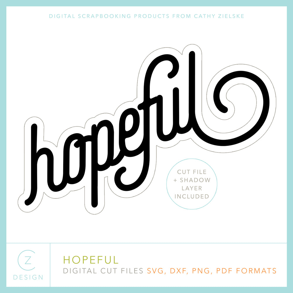 Hopeful Cut File