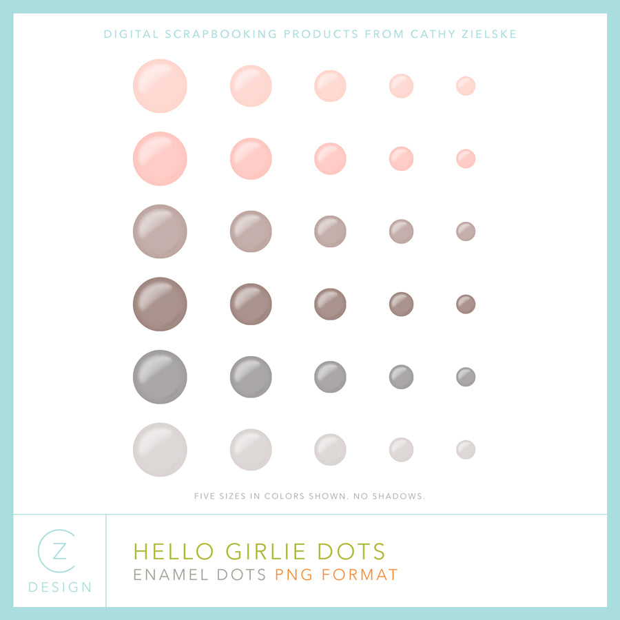Hello Girlie Dots