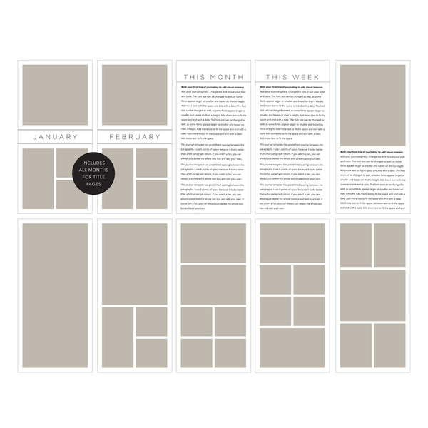 Four by Eights 001 Template Set