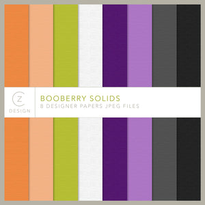 Booberry Solids Paper Pack