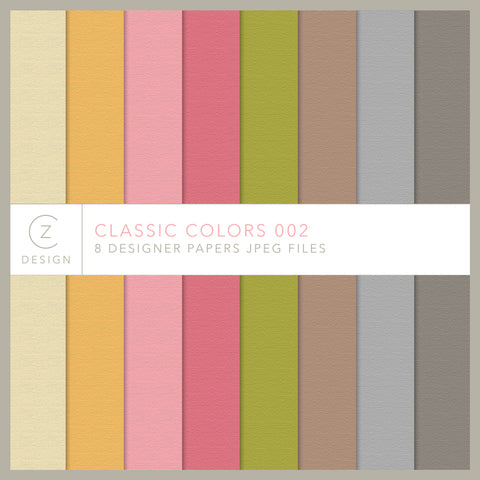 Classic Colors 002 Paper Pack