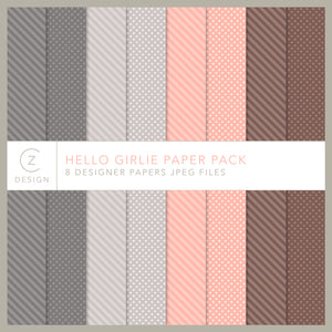 Hello Girlie Paper Pack