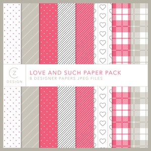 Love and Such Paper Pack