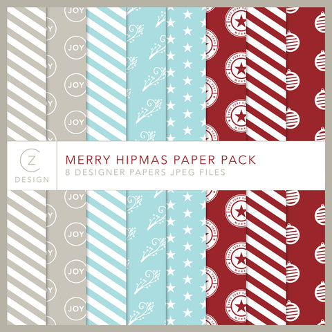 Merry Hipmas Paper Pack