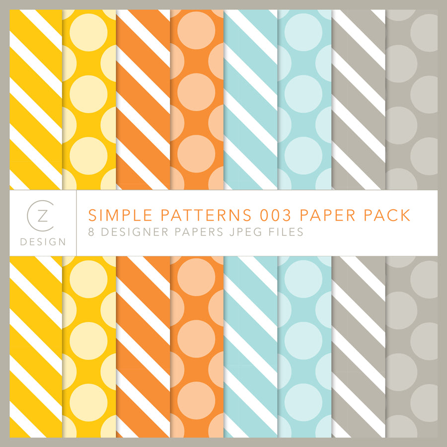 Simple Patterns 003 Paper Pack