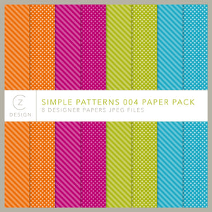 Simple Patterns 004 Paper Pack