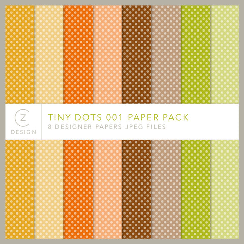 Tiny Dots 001 Paper Pack
