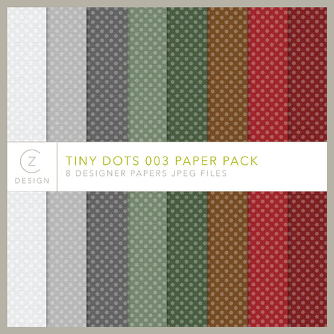 Tiny Dots 003 Paper Pack