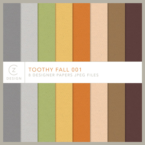 Toothy Fall 001 Paper Pack