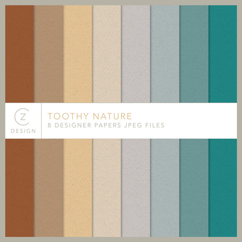Toothy Nature Paper Pack