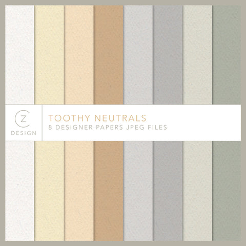 Toothy Neutrals Paper Pack