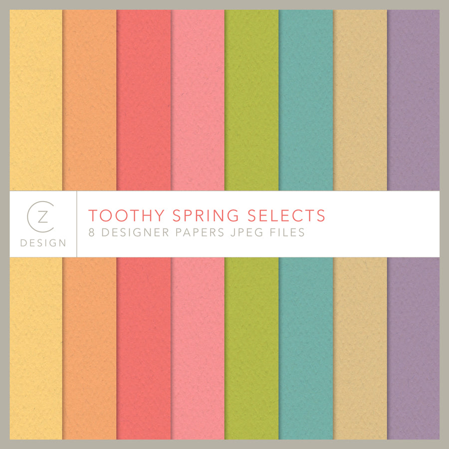 Toothy Spring Selects Paper Pack